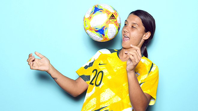 Sam Kerr: A million-dollar girl of Australian football